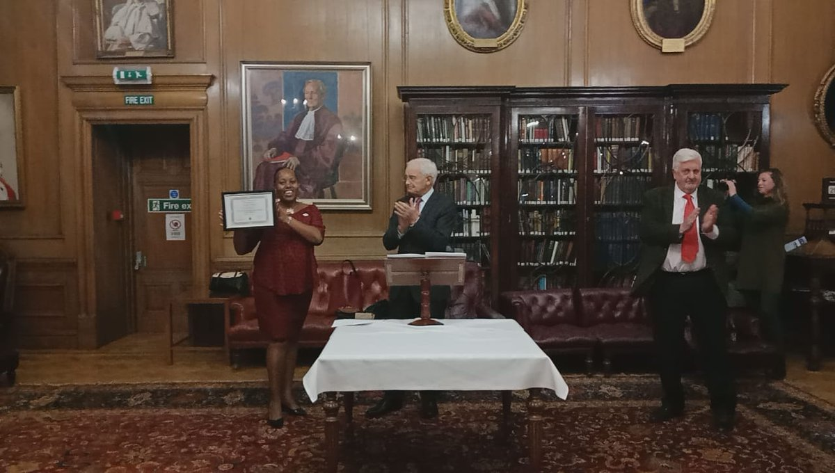 Salome Nduta who emerged from the settlements of one of Africa's largest cities to help in the fight to rewrite her country's constitution has been named the first winner of the Scottish Bar International Human Rights Award.