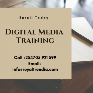 Digital Media training for all in Nairobi Kenya.