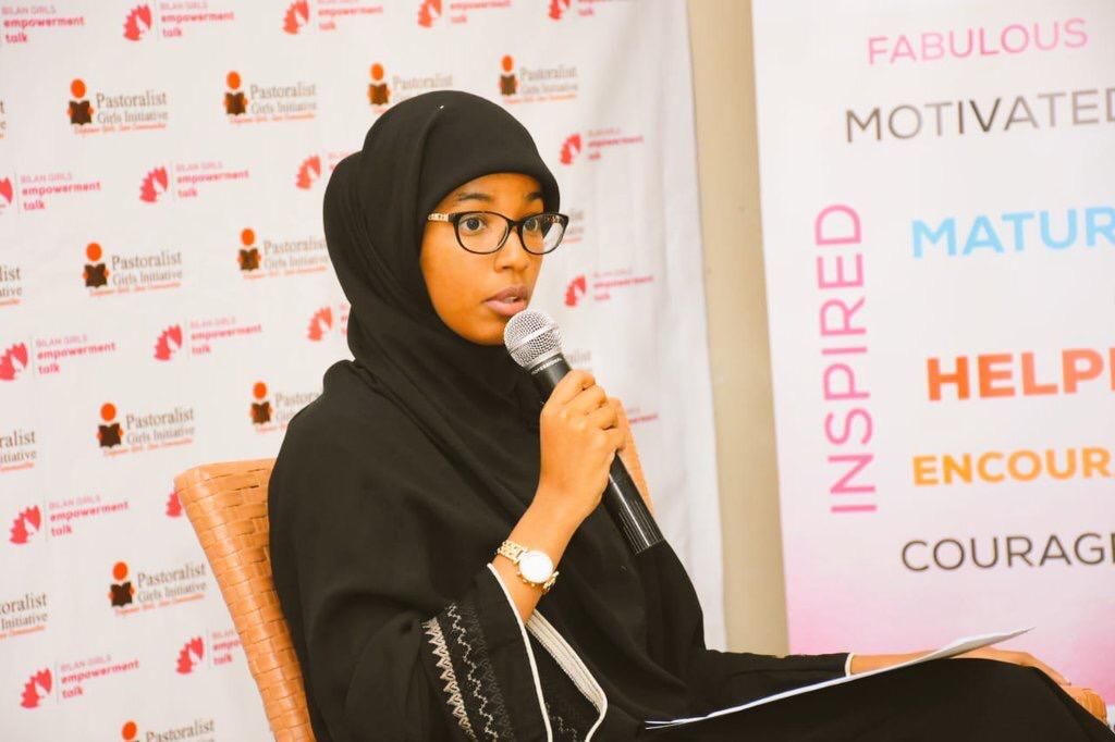 Umulkheir Mohamed is the founder of the Kesho Alliance Organization, a non-profit fighting for quality education and advocacy, especially for young women in Northeastern Kenya-Garissa.