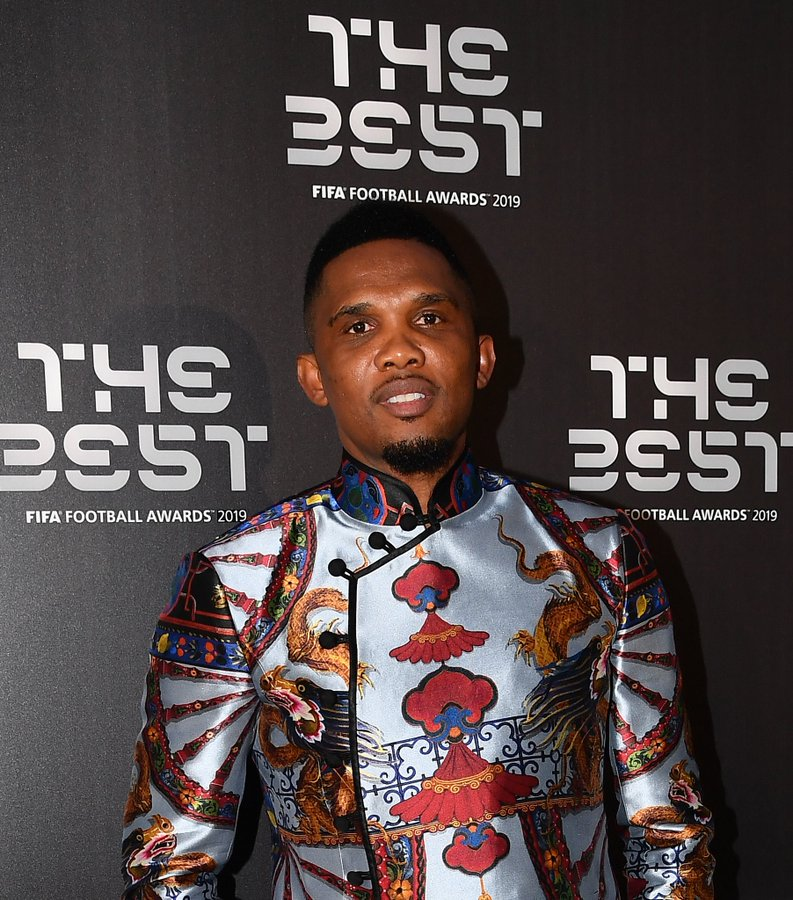 Samuel Eto'o The Retired footballer joins Harvard University to study business management