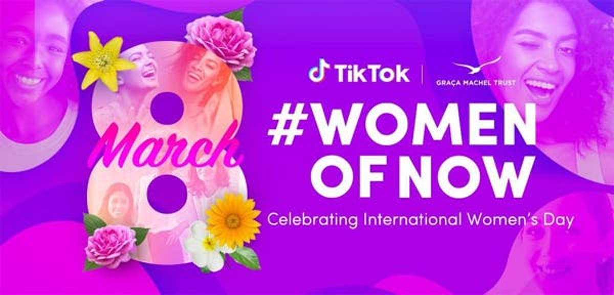Today, the TikTok community comes together to celebrate International Women's Day with the launch of #WomenofNow – a month-long hashtag challenge to inspire and celebrate the diverse and inclusive female community on TikTok. This incredible community is made up of women who are leading the way in various spheres including fashion, sport, education, media, arts and culture, tech and more.